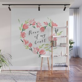 Piece of my heart Wall Mural