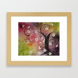 Whimsical Tree Framed Art Print