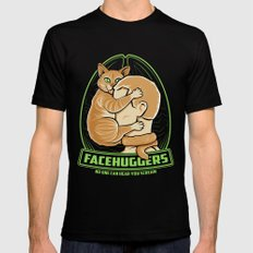 Facehuggers  MEDIUM Black Mens Fitted Tee