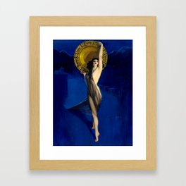 The Enchantress by Rolf Armstrong (c.1927) Framed Art Print