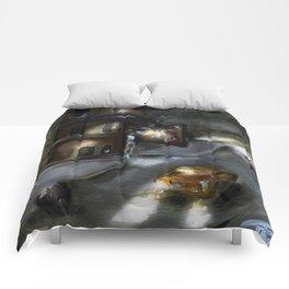 Pops ride.. Comforters