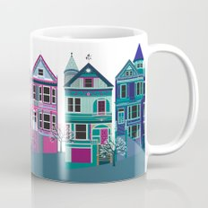 San Francisco Houses - Painted Ladies Mug