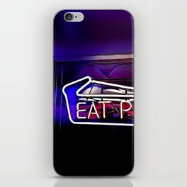 Eat Pie iPhone Skin