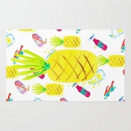 Pineapple fun Rug
