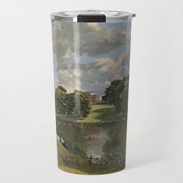 John Constable Wivenhoe Park, Essex 1816 Painting Travel Mug