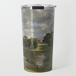 John Constable Wivenhoe Park, Essex 1816 Painting Travel Mug
