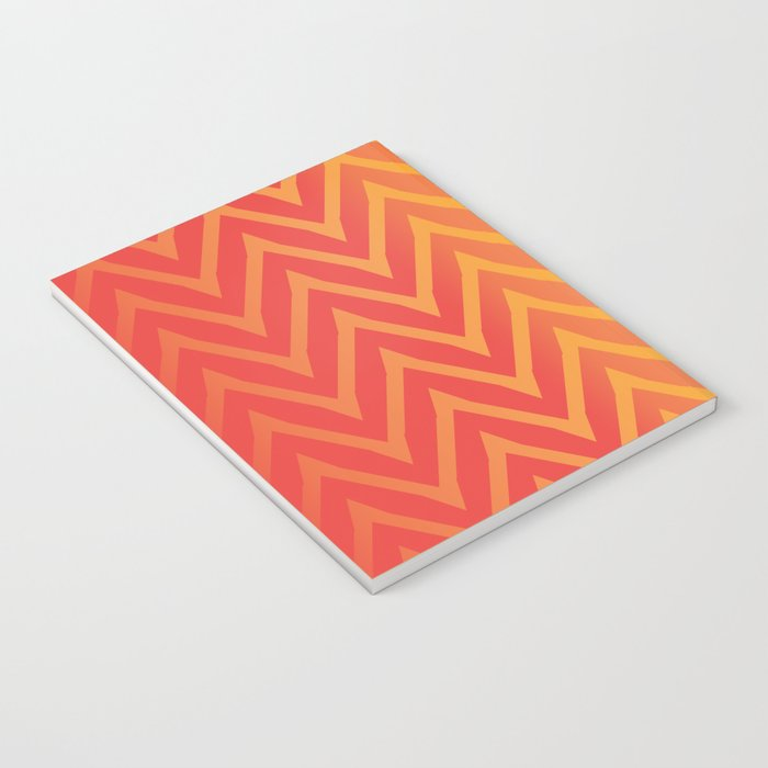 Warm Chevron Notebook