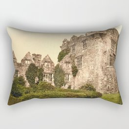 Vintage Photo-Print of Donegal Castle (1900) Rectangular Pillow