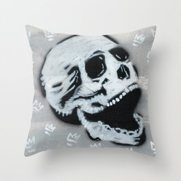 Gunga Skull 03 Throw Pillow
