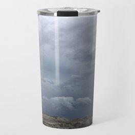 Storm over the Badlands Travel Mug