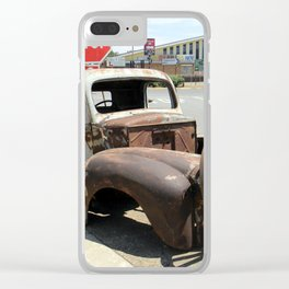 Vintage  Old Car Clear iPhone Case