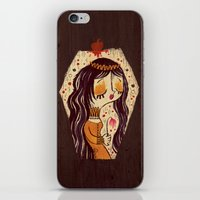 snow white iPhone & iPod Skins featuring Snow White by Pigologist