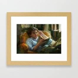 Literature Framed Art Print