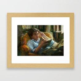 Literature Framed Art Print