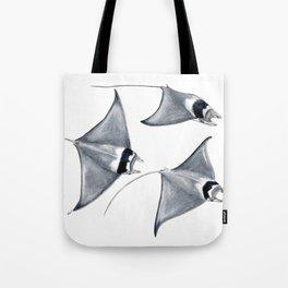 Devil fish Manta ray Mobula mobular Tote Bag