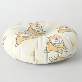Baby Shiba  Floor Pillow