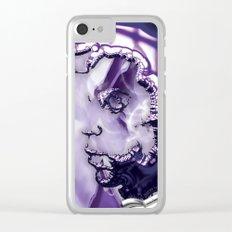 Prince Purple Rain Clear iPhone Case