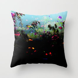dark meadow Throw Pillow