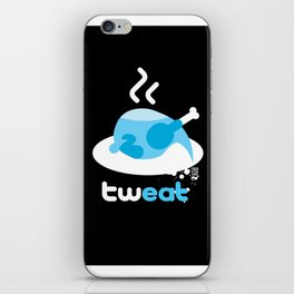 tweat iPhone Skin
