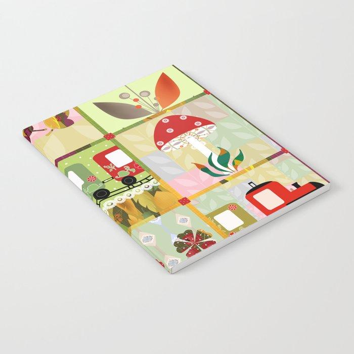 Children's Dominoes. Cubes. Notebook