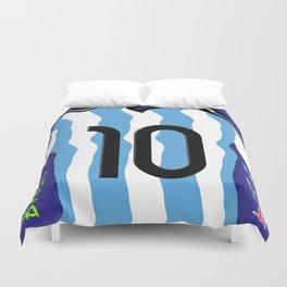 Argentina in Brazil 2014 Duvet Cover