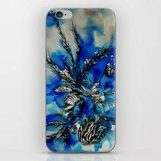Blue Flowers iPhone & iPod Skin
