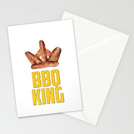 BBQ King Stationery Cards