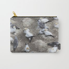Gannet Colony Carry-All Pouch