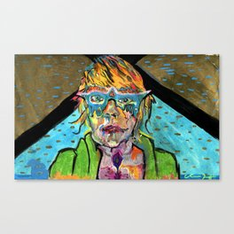 Uranium Girl Canvas Print