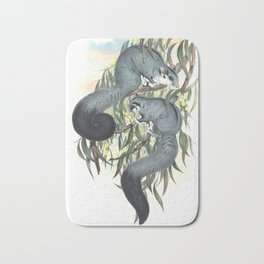 Sugar Glider in the forest of Australia and USA Bath Mat