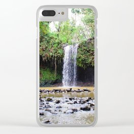 Maui Revealations Clear iPhone Case