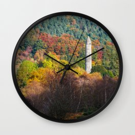 Autumn at Glendalough (RR 171) Wall Clock