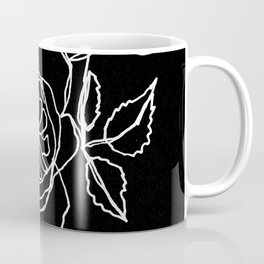 English Roses line art Coffee Mug