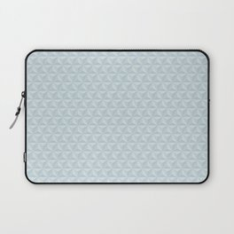 Spaceship Earth Triangles Laptop Sleeve