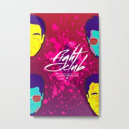 Fight Club Metal Print