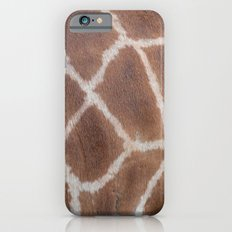 Giraffe pattern iPhone 6s Slim Case