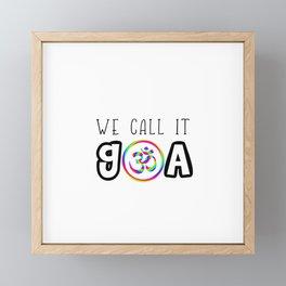 We call it Goa Trance Techno Rave gift idea Framed Mini Art Print