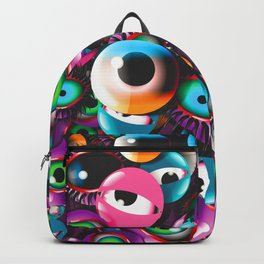 Monster Eyes Party Backpack