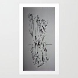 Sweet Nothings Art Print