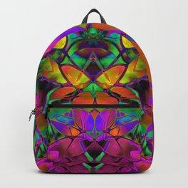 Floral Fractal Art G306 Backpack