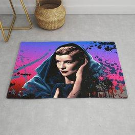 Katharine Hepburn, 60 years of drama. Rug