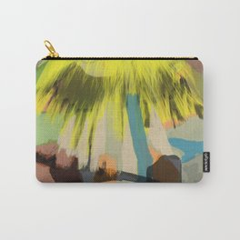 Yellow Contemplation Carry-All Pouch