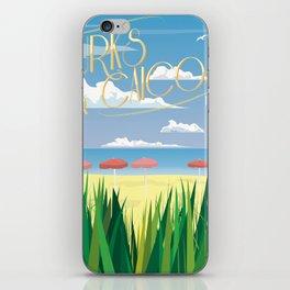Turks Beach iPhone Skin