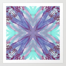 Watercolor Abstract Art Print