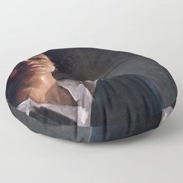 Sasha In Her Final Resting Place - The Walking Dead Floor Pillow