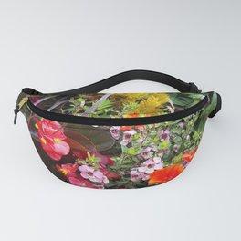 Summer Flower Garden Fanny Pack
