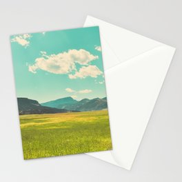 Rocky Mountain Meadow Stationery Cards