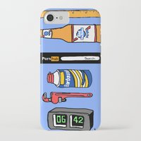 boys iPhone & iPod Cases featuring Boys  by badbadgraphics