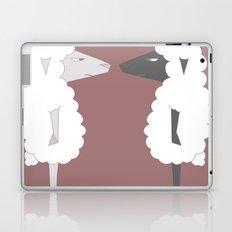 White Sheep meets Black Sheep Laptop & iPad Skin