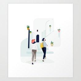 New places Art Print